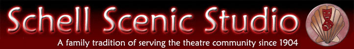 Schell Scenic Studio - A family tradition of serving the theatre community since 1904.