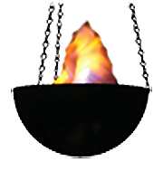 Le Flame Bowl Fire Effect